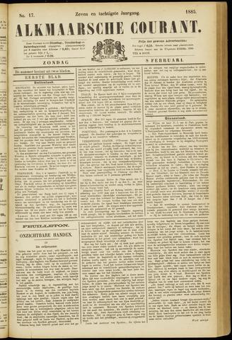Alkmaarsche Courant 1885-02-08