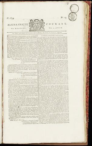 Alkmaarsche Courant 1834-04-14