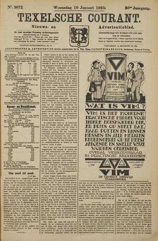 Texelsche Courant 1923-01-10