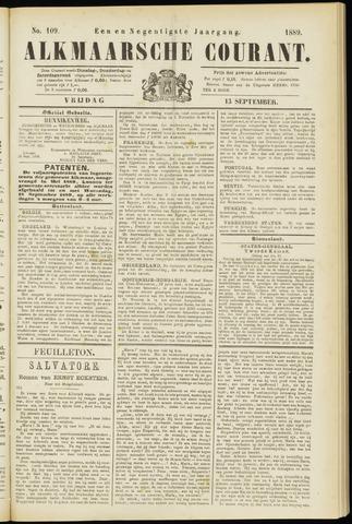 Alkmaarsche Courant 1889-09-13
