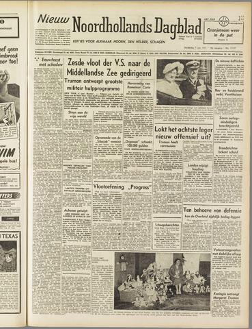 Nieuw Noordhollandsch Dagblad : voor Alkmaar en omgeving 1951-06-07