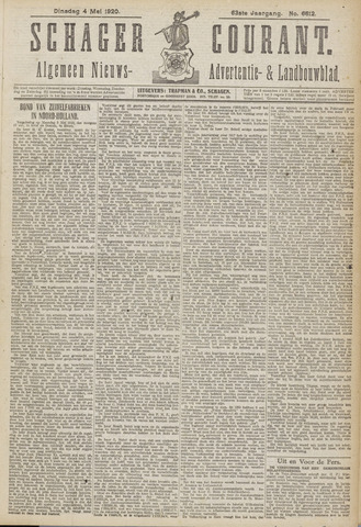 Schager Courant 1920-05-04
