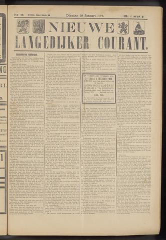 Nieuwe Langedijker Courant 1924-01-29
