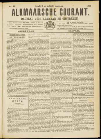 Alkmaarsche Courant 1906-04-26