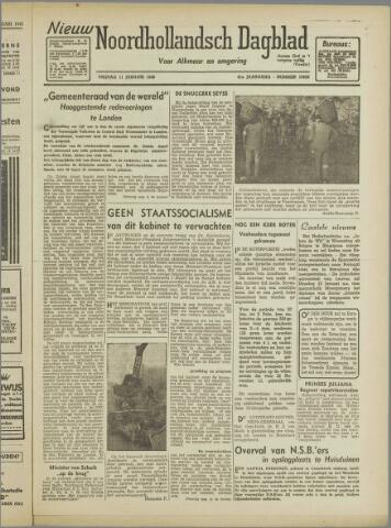 Nieuw Noordhollandsch Dagblad : voor Alkmaar en omgeving 1946-01-11