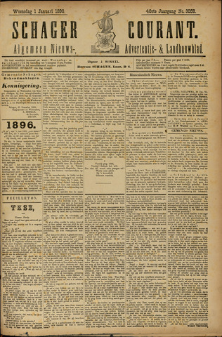 Schager Courant 1896
