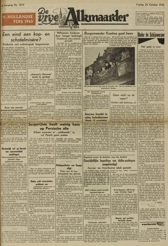 De Vrije Alkmaarder 1947-10-24