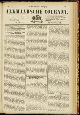 Alkmaarsche Courant 1883-10-21