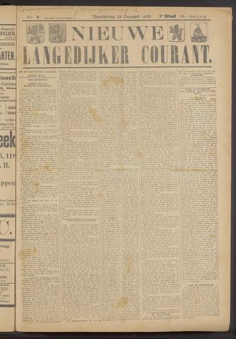 Nieuwe Langedijker Courant 1922-01-19