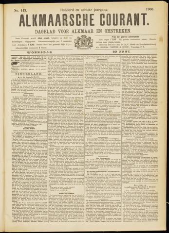 Alkmaarsche Courant 1906-06-20