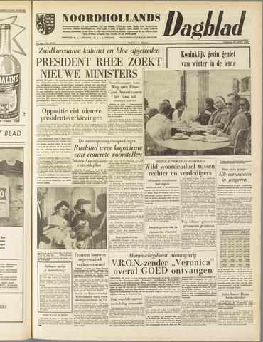 Noordhollands Dagblad : dagblad voor Alkmaar en omgeving 1960-04-22