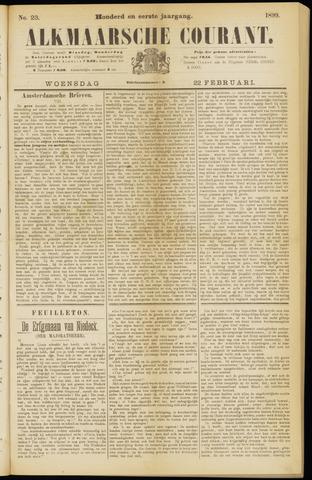 Alkmaarsche Courant 1899-02-22