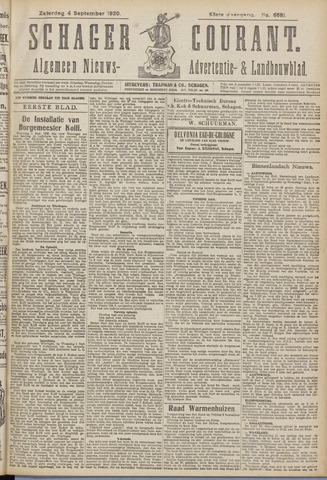Schager Courant 1920-09-04