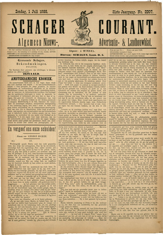 Schager Courant 1888-07-01