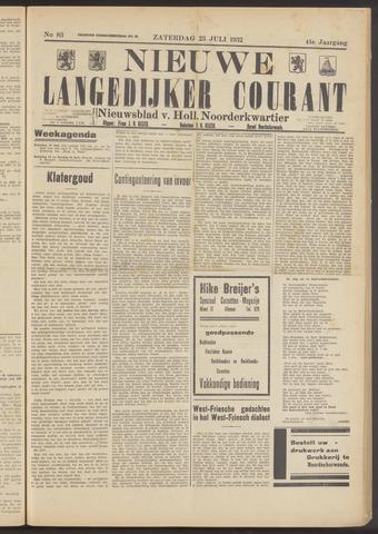 Nieuwe Langedijker Courant 1932-07-23