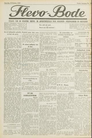 Flevo-bode: nieuwsblad voor Wieringen-Wieringermeer 1949-10-29