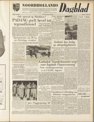 Noordhollands Dagblad : dagblad voor Alkmaar en omgeving 1958-04-04