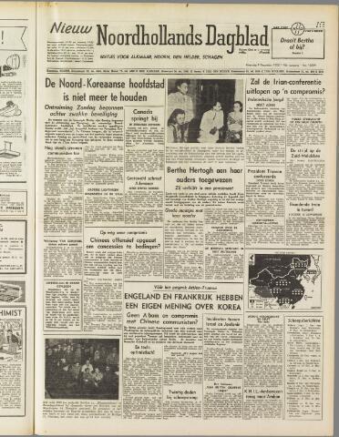 Nieuw Noordhollandsch Dagblad : voor Alkmaar en omgeving 1950-12-04
