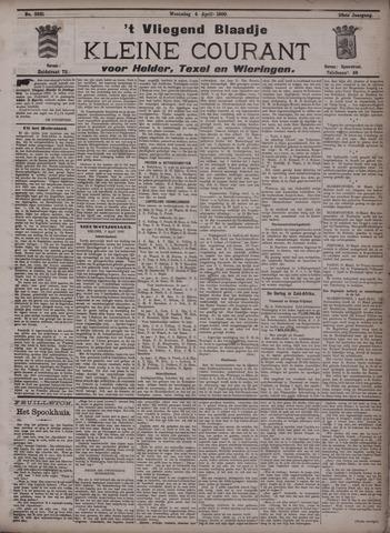Vliegend blaadje : nieuws- en advertentiebode voor Den Helder 1900-04-04