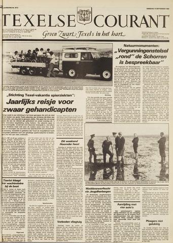Texelsche Courant 1982-09-14