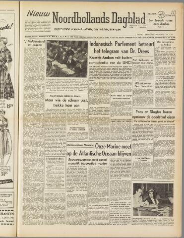 Nieuw Noordhollandsch Dagblad : voor Alkmaar en omgeving 1950-10-10