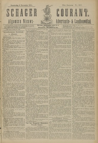 Schager Courant 1911-11-09