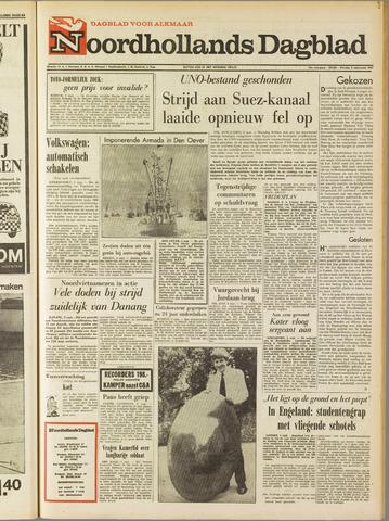 Noordhollands Dagblad : dagblad voor Alkmaar en omgeving 1967-09-05