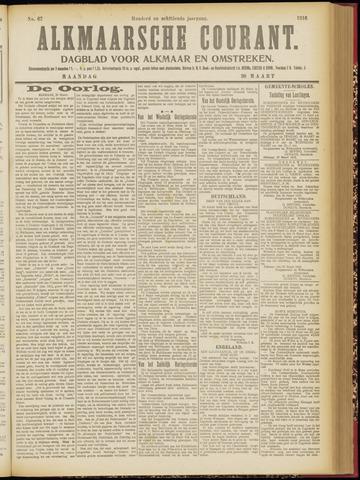 Alkmaarsche Courant 1916-03-20