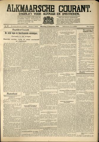 Alkmaarsche Courant 1934-09-03