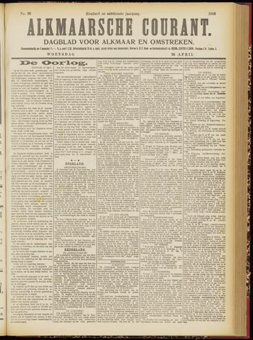 Alkmaarsche Courant 1916-04-26