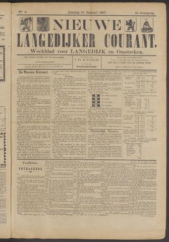 Nieuwe Langedijker Courant 1897-01-10