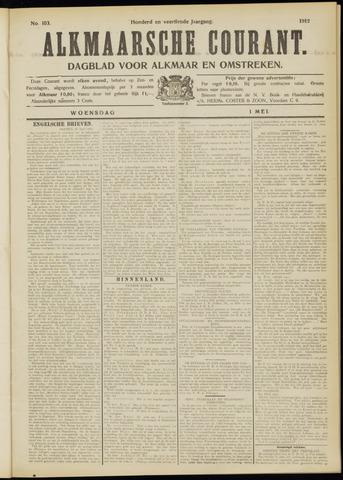 Alkmaarsche Courant 1912-05-01