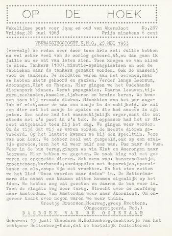 Op De Hoek, weekblad voor Akersloot 1963-06-28