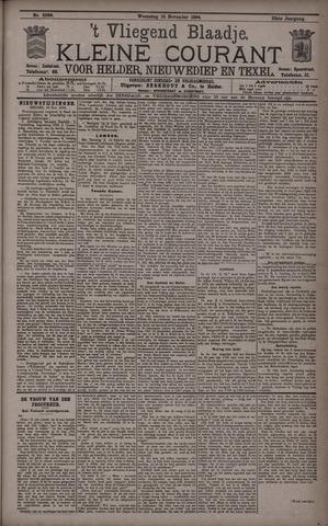 Vliegend blaadje : nieuws- en advertentiebode voor Den Helder 1894-11-14