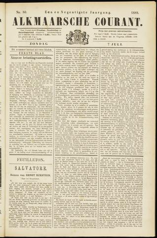 Alkmaarsche Courant 1889-07-07