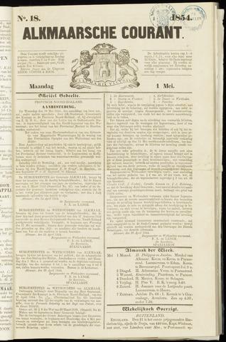 Alkmaarsche Courant 1854-05-01