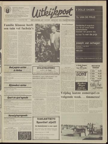 Uitkijkpost : nieuwsblad voor Heiloo e.o. 1985-08-07