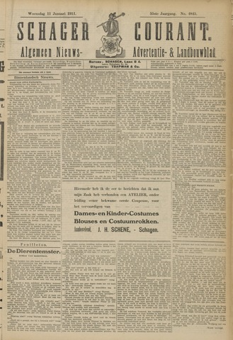 Schager Courant 1911-01-11