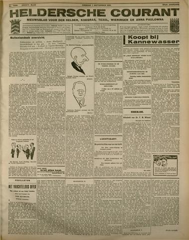 Heldersche Courant 1931-09-01
