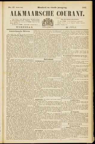Alkmaarsche Courant 1902-07-23