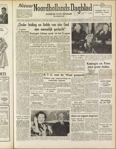 Nieuw Noordhollandsch Dagblad : voor Alkmaar en omgeving 1952-04-04