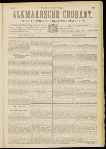Alkmaarsche Courant 1914-02-12