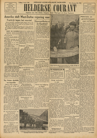 Heldersche Courant 1948-04-09