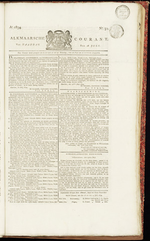 Alkmaarsche Courant 1834-07-28