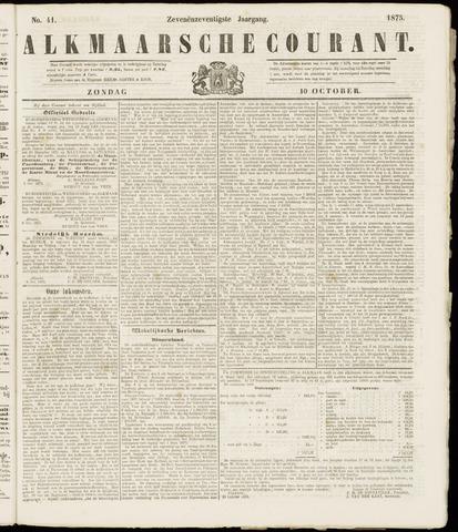 Alkmaarsche Courant 1875-10-10