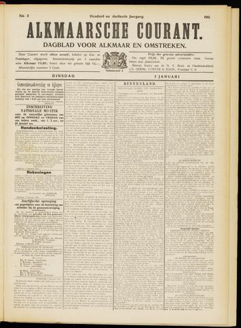 Alkmaarsche Courant 1911-01-03