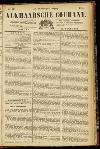 Alkmaarsche Courant 1884-08-15