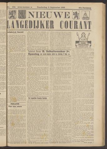 Nieuwe Langedijker Courant 1926-09-02
