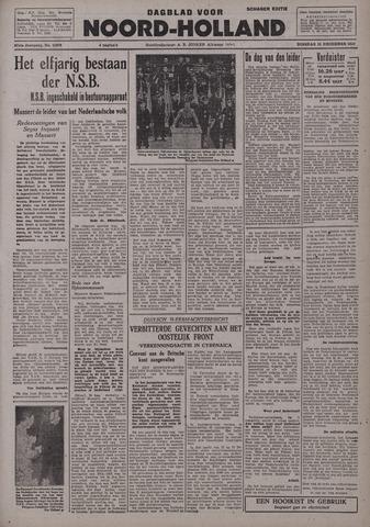 Dagblad Noord-Holland, Schager editie 1942-12-15