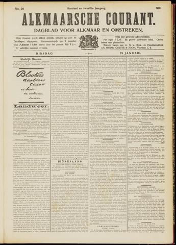 Alkmaarsche Courant 1910-01-25